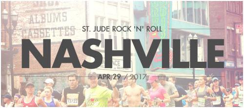 St. Jude Rock 'N' Roll Marathon Nashville