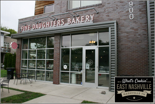 Five Daughters Bakery East Nashville What's Cookin' East Nashville
