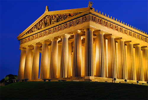 The Parthenon Nashville TN What's Cookin' Nashville