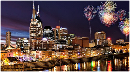 Nashville TN New Years Eve 2018