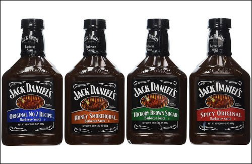 Jack Daniel's Barbecue Sauces 4 sauces What's Cookin' Mercantile Nashville