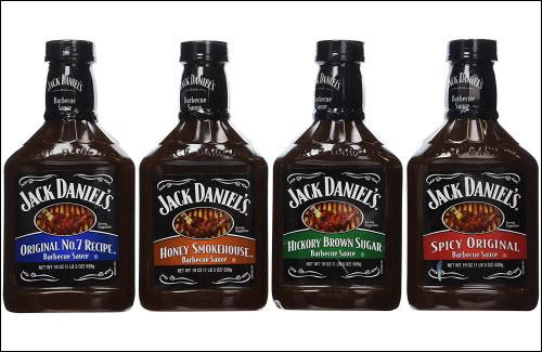 Jack Daniel's Barbecue Sauces 4 sauces What's Cookin' Mercantile Nashville