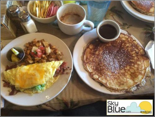 Sky Blue Cafe Breakfast East Nashville TN